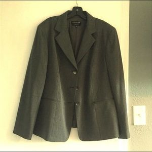 Jones New York Dark grey blazer - 18W